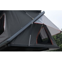 Buy cheap Camping Aluminum Hard Shell Z-Shaped Pop-up Roof Top Tent Safe Pop Up Tent from wholesalers