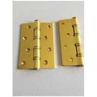 Buy cheap Gp Color 4 Ball Bearing Door Hinges Furniture Hardware Customized Size from wholesalers