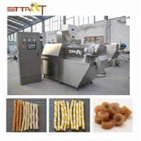 Buy cheap SS Single Screw Food Extruder , Automatic Pet Food Processing Machinery from wholesalers