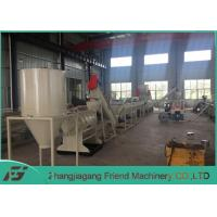 Buy cheap 304 Stainless Steel Material Plastic Recycling Extruder Machine Long Service Life from wholesalers