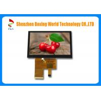 Buy cheap 4.3-inch TFT LCD touch Screen with PCAP, 40 pins RGB interface, 450 nits, 480*272 resolution, 16.7M color from wholesalers