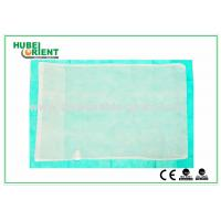 Buy cheap Customized Disposable Bed Sheets Nonwoven Fabric Pillow Cover , CE / ISO Approved from wholesalers