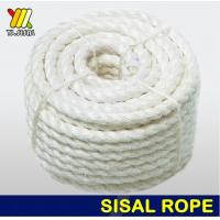 Buy cheap White unoiled sisal rope from wholesalers