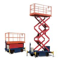 Buy cheap One Man Operated Mobile Aerial Work Platform 1.8 * 1 M Platform Size For Cleaning from wholesalers