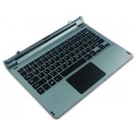 Buy cheap Silver 12 - 12.9 Inch Tablet Keyboard , Customization Brand  Portable Keyboard product