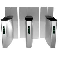Buy cheap Stailess Steel Sliding Turnstile Security Systems, High Speed Gates Flap Barrier from wholesalers