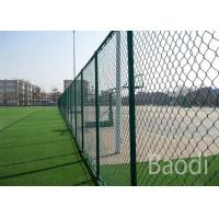 Buy cheap Vinyl Coated Chain Link Fence Fabric Roll , Chain Wire Mesh Fencing With Long Service Life from wholesalers