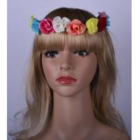 Buy cheap Bride Colorful Elastic Fabric Headband , Special Festival Hair Accessoires For Girls product