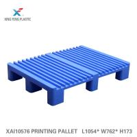 Buy cheap Non stop plastic pallet for printing industry with printing machine HEIDELBERG CD 102 converting pallets for printing from wholesalers