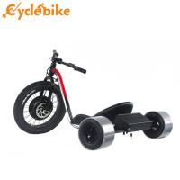 Buy cheap Red Color Fat Tire Electric Drift Trike For Adults With Display And Battery from wholesalers