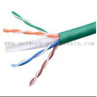Buy cheap Green Lan Cable Ethernet CAT6 UTP Cable Cat 6 Plenum Rated Cable from wholesalers