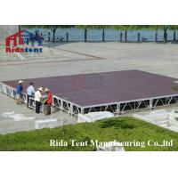 Buy cheap Strong Portable Concert Stage / Multi Functional Folding Mobile Stages from wholesalers