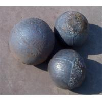 Buy cheap Precision Middle Chrome​ Forged Steel Grinding Balls , Cast Grinding Ball product