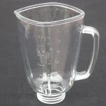 Buy cheap factory direct high quality 1.25L transparent blender spare part glass jar replace blender glass cup VASO DE VIDRIO PARA from wholesalers
