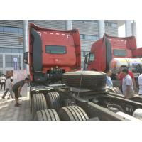 Buy cheap 290HP Prime Mover Truck 30 - 40 Tonne Load Left Hand Drive 80R22.5 Tire from wholesalers