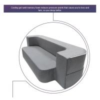 Buy cheap Grey Modern Foam Pull Out Sofa BedComfortable Relax Queen Size / Twin Size from wholesalers