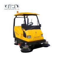 Buy cheap Ride On Battery Type Floor Sweeper, Battery Driven Ceramic Tile Floor Cleaning Machine from wholesalers