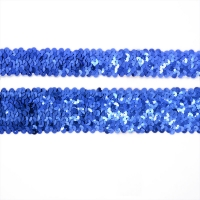 Buy cheap Bling  4.5cm 3 Row 4 Rows  Glitter Sequin Ribbon Trim from wholesalers