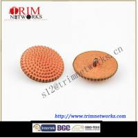 Buy cheap Alloy 22.5MM HVB Green Copper fashion metal shank button from wholesalers
