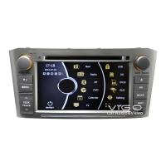Buy cheap Toyota Sat Nav DVD Car Stereo For Toyota Avensis Multimedia VTA1030 from wholesalers