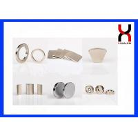 Buy cheap Industrial Neodymium Permanent Magnets , Sintered Neodymium Rare Earth Super product