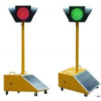 Buy cheap Movable Solar LED RED/GREEN Light Temporary Solar Power Traffic Light from wholesalers
