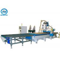 Buy cheap Loading Unloading CNC Machine Panel Furniture Production Line With Boring Head / Drilling from wholesalers