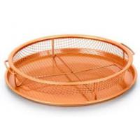 Buy cheap As seen on TV Air Fryer copper crisper chef baking tray set copper basket gotham copper bakeware from wholesalers