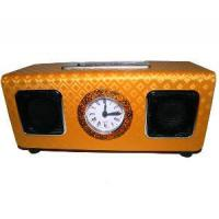 Buy cheap Yellow Squamous Face Mini Speaker Support SD/MMC Card with FM Radio (UK-D16A) from wholesalers