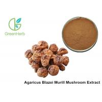 Buy cheap Health Supplement Herbal Plant Extract Agaricus Blazei Murill Mushroom Extract Powder from wholesalers