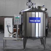 Buy cheap Industrial Milk Cooling Tank Vertical Horizontal Type With ABB Motor from wholesalers