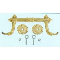 Buy cheap Metal Handles Coffin Ornaments For Coffin Bearing / Funeral Products product