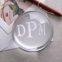 Buy cheap Domed crystal paperweight from wholesalers