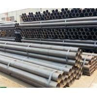 Buy cheap A53 / ASTM 5L Round Hollow Steel Pipe , Seamless Boiler Tubes High Frequency Welded from wholesalers