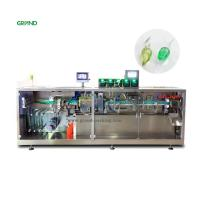 Buy cheap 10ml 14ml Plastic Ampoule Filling Machine , Pharmaceutical Liquid Filling Machines product