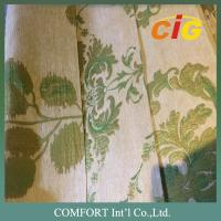 Buy cheap 100% Polyester Sofa / Furniture Upholstery Fabric green 143CM Width from wholesalers
