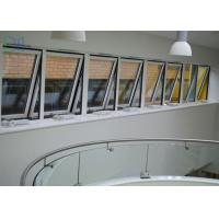 Buy cheap Powder Coating Metal Awning Windows , Top Hung Roof Window AS2047 Standard from wholesalers