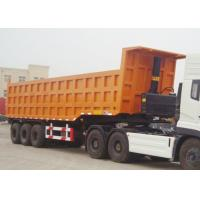 Buy cheap CIMC brand new charoit dumper trailer loading capacity of 60 t heavy duty semi trailer dump truck end dump trailer from wholesalers