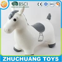 Buy cheap big inflatable animal life size plastic horse from wholesalers