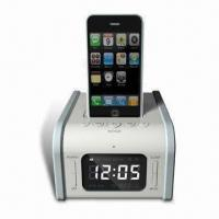 Buy cheap Speaker System for iPod and iPhone, with Remote Control, Snooze and Sleep Functions,docking station from wholesalers