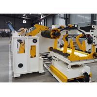 Buy cheap Metal Coil Hydraulic Uncoiler Machine , CE High Precision Coil Processing Equipment from wholesalers