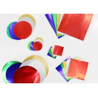 Buy cheap Gummed Paper Combined With Squares And Circles, Pack of 150, Multi Colours from wholesalers