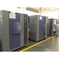 Buy cheap 64L 3 Zone Thermal Shock Test Chamber For Reliability Destruction Testing from wholesalers