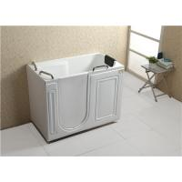Buy cheap Air Bubble Massage Walk In Tub And Shower Combination Glossy Surface Finish from wholesalers