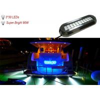 Buy cheap 90W IP68 Waterproof Marine Underwater LED Lights , RGB LED Boat Navigation Light from wholesalers