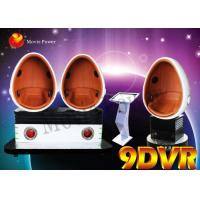 Buy cheap 3 Cabins 9D VR Cinema 9d Virtual Reality Cinema Busy Street Park from wholesalers