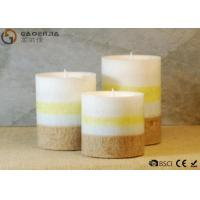 Buy cheap Mini Lovely 3 Set Flameless Pillar Candles Battery Operated Creative Lighting product
