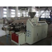 Buy cheap WPC  Window or Door Wood Plastic Extrusion Machines 65mm / 132mm Screw Dia from wholesalers
