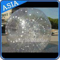 Buy cheap Grass Used One Entrance Zorb Water Ball In 0.8mm Pvc For Rental Business from wholesalers