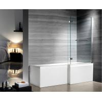 Buy cheap Professional Glass Shower Enclosures , bathtub screen with stainless steel hinges from wholesalers